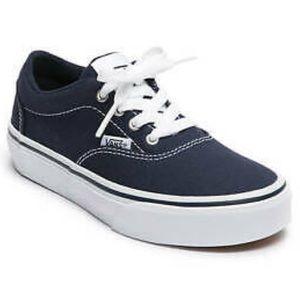 VANS Kids 12 Doheny Skater Navy Shoes Lace Up Navy